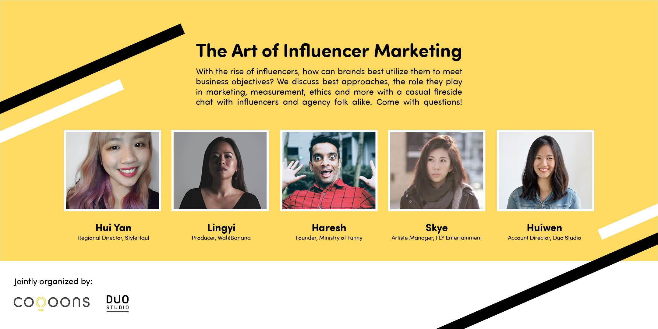 The Art of Influencer Marketing