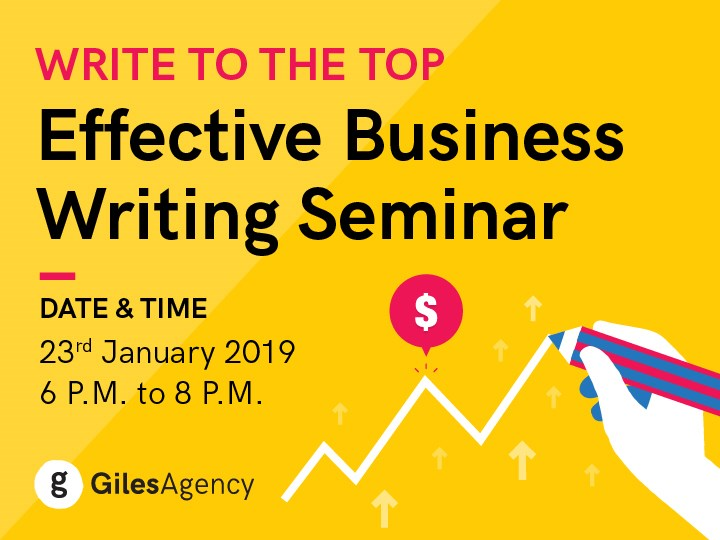 Write to the Top: Effective Business Writing Skills Seminar @ CoQoons